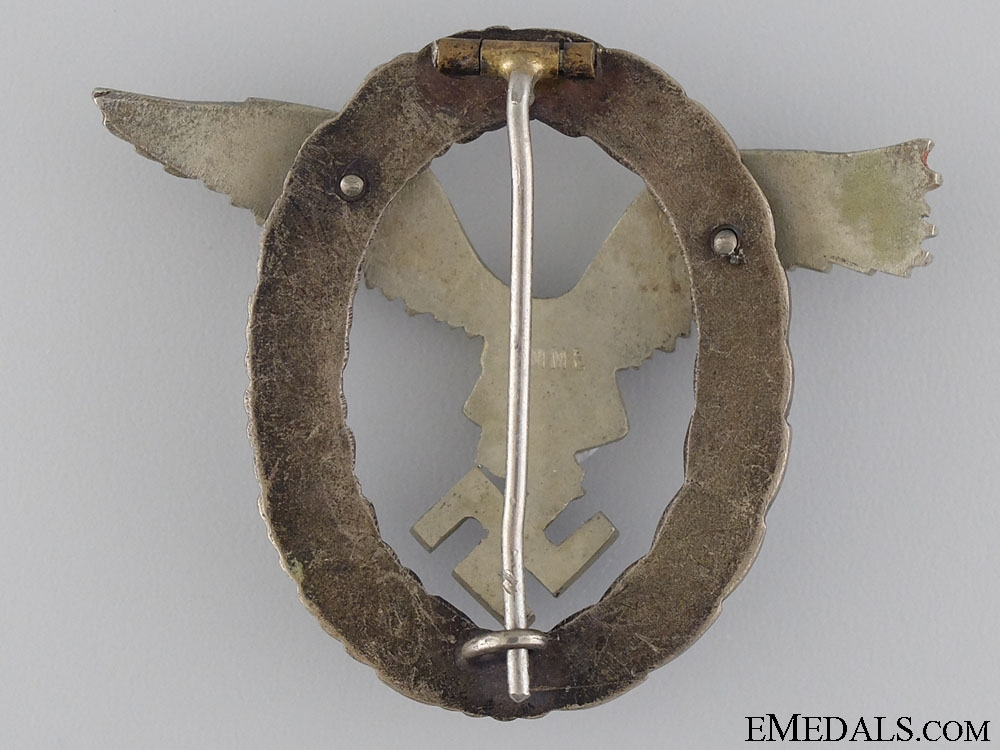 An Early Pilot's Badge by maker IMME