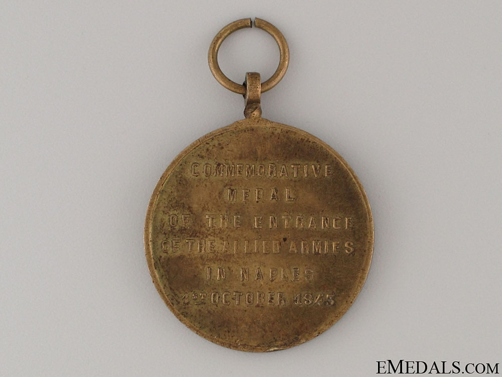 WWII 8th Army Commemorative Medal 1943