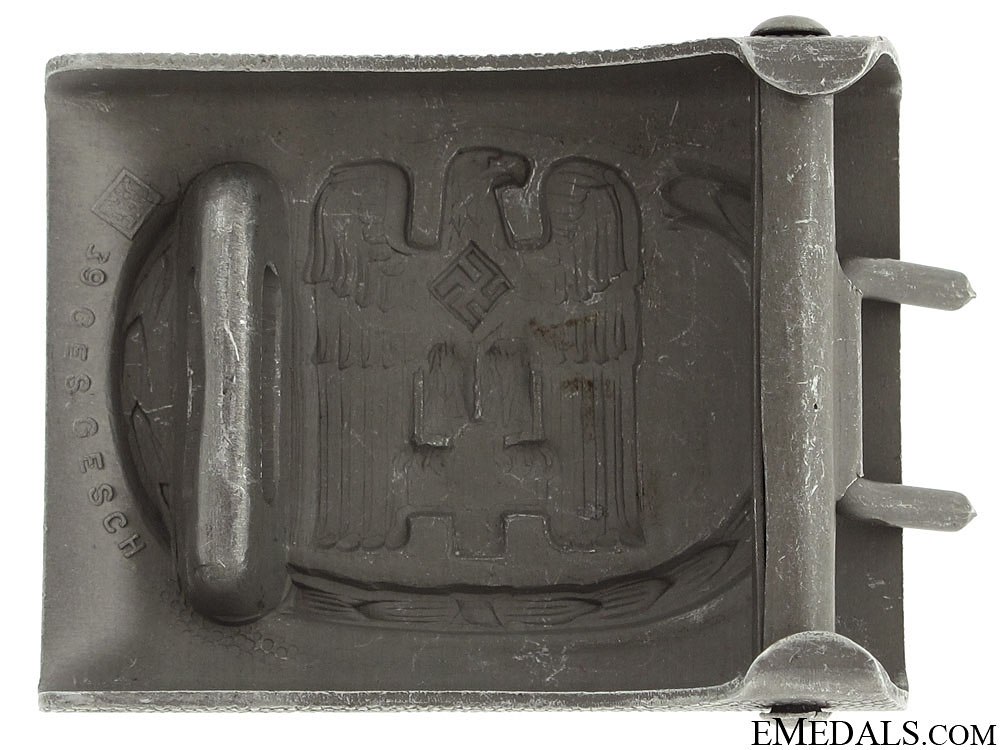 Red Cross Enlisted Belt Buckle