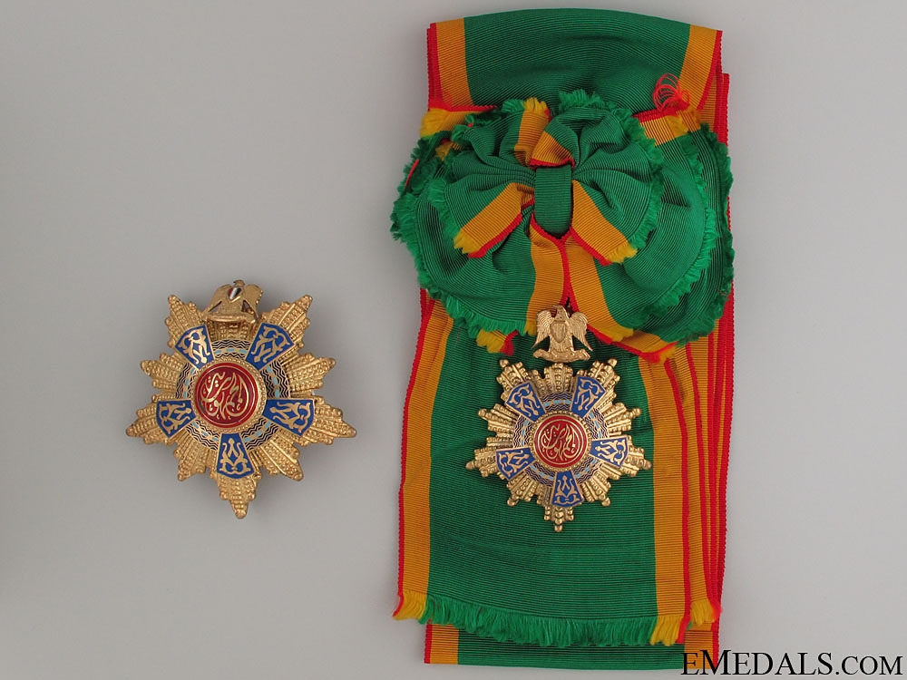 The Egyptian Order of the Republic - Grand Cross