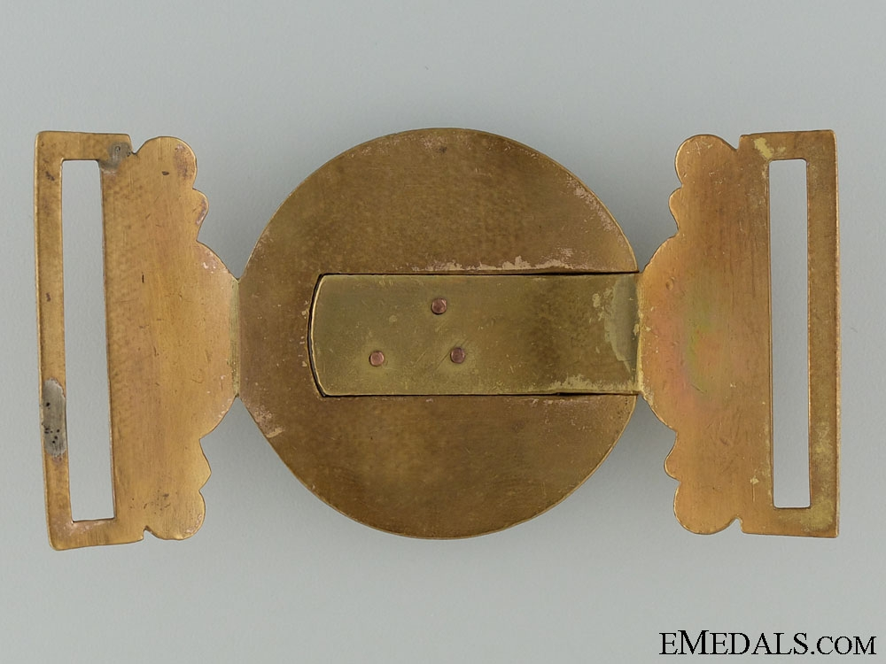 A Victorian Cambridgeshire 30th Regiment Officer's Buckle