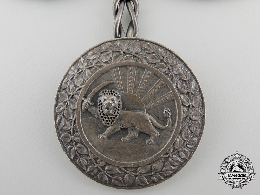An Iranian Order of Homayoun; Silver Grade Ladies Issue