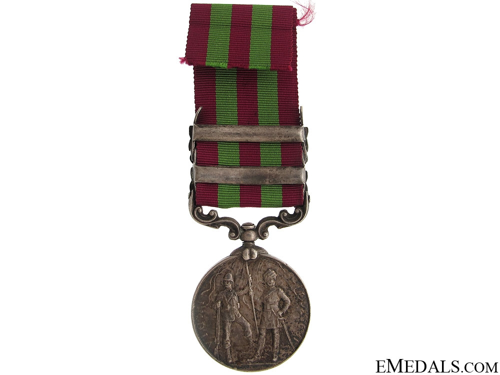 India Medal 1896 - Inniskilling Fusiliers