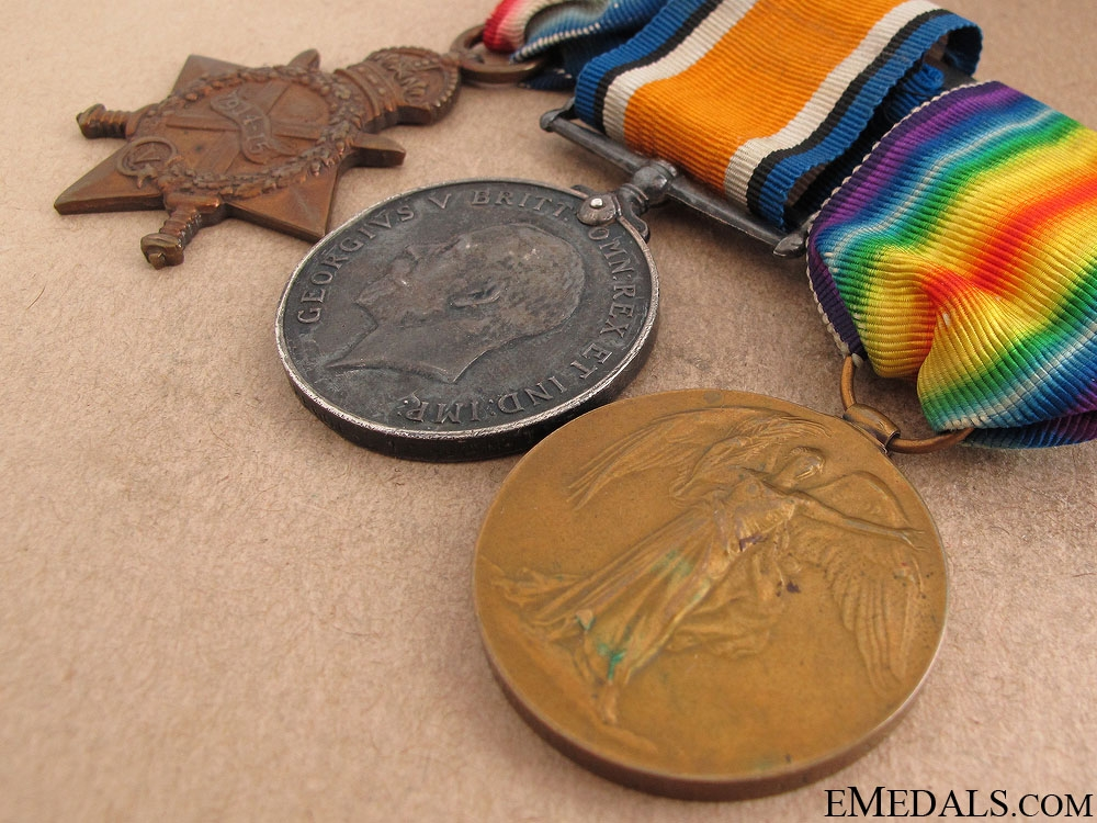 First War Trio to the 19th Canadian Infantry