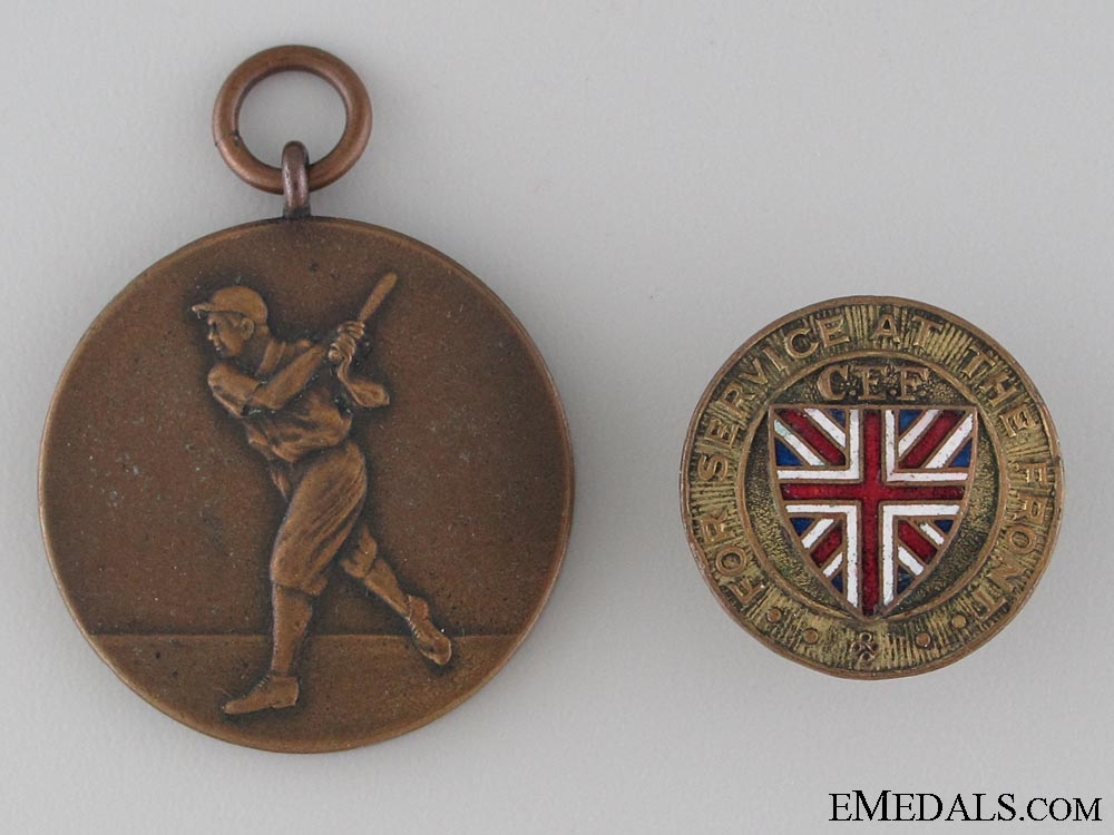 A First War Pair to the 10th Canadian Infantry