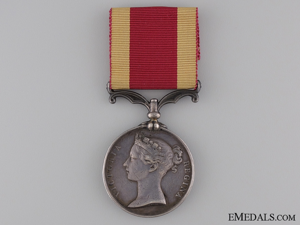 1860 Second China War Medal to the 13th Artillery