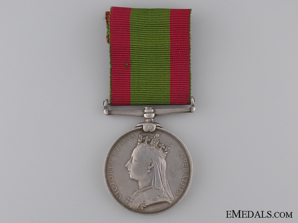 1881 Afghanistan Medal to the 72nd Regiment