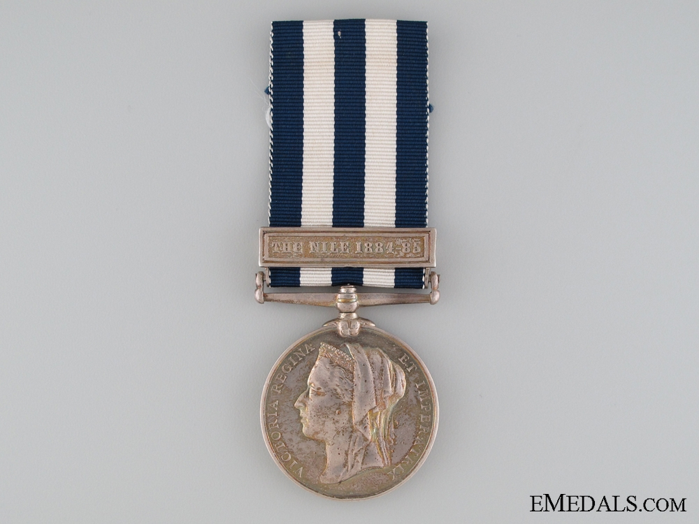 1882-89 Egypt Medal to the 19th Hussars