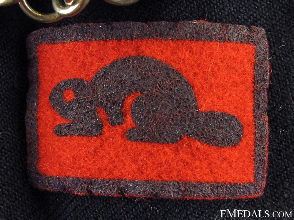 WWII Canadian Frontiersmen Tunic