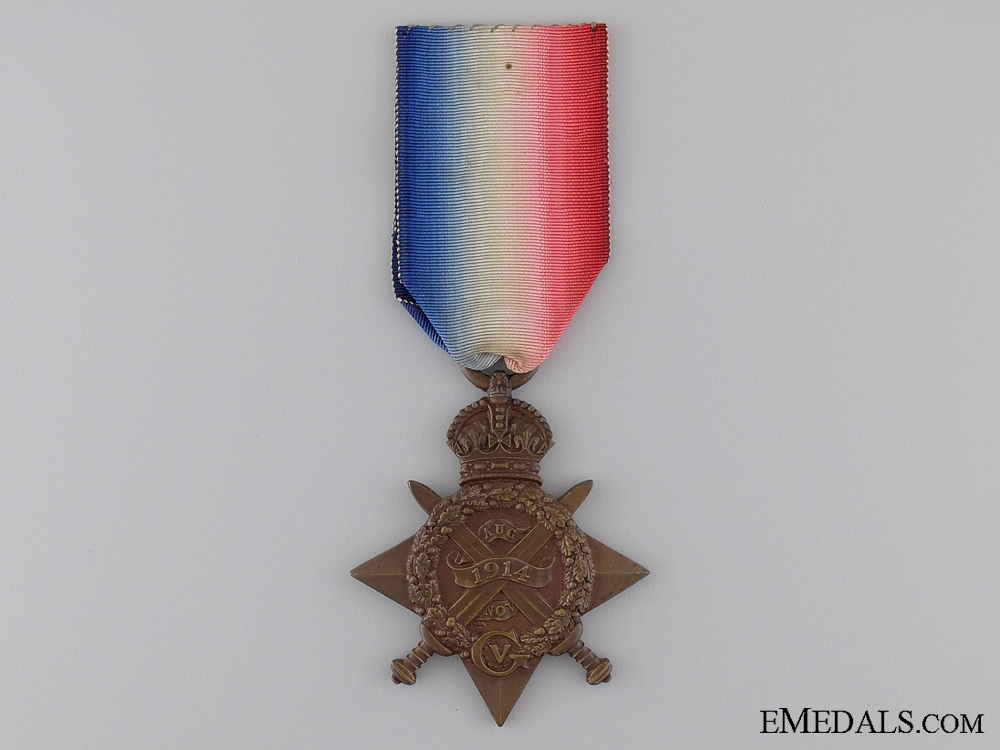 1914 Star to ther 1st King's Royal Rifle Corps