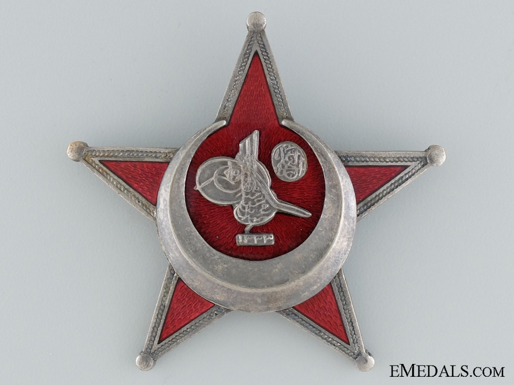 1915 Campaign Star (Iron Crescent) by B.B. & Co.