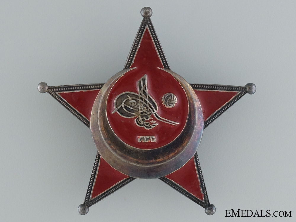 A 1915 Turkish Campaign Star; Iron Crescent
