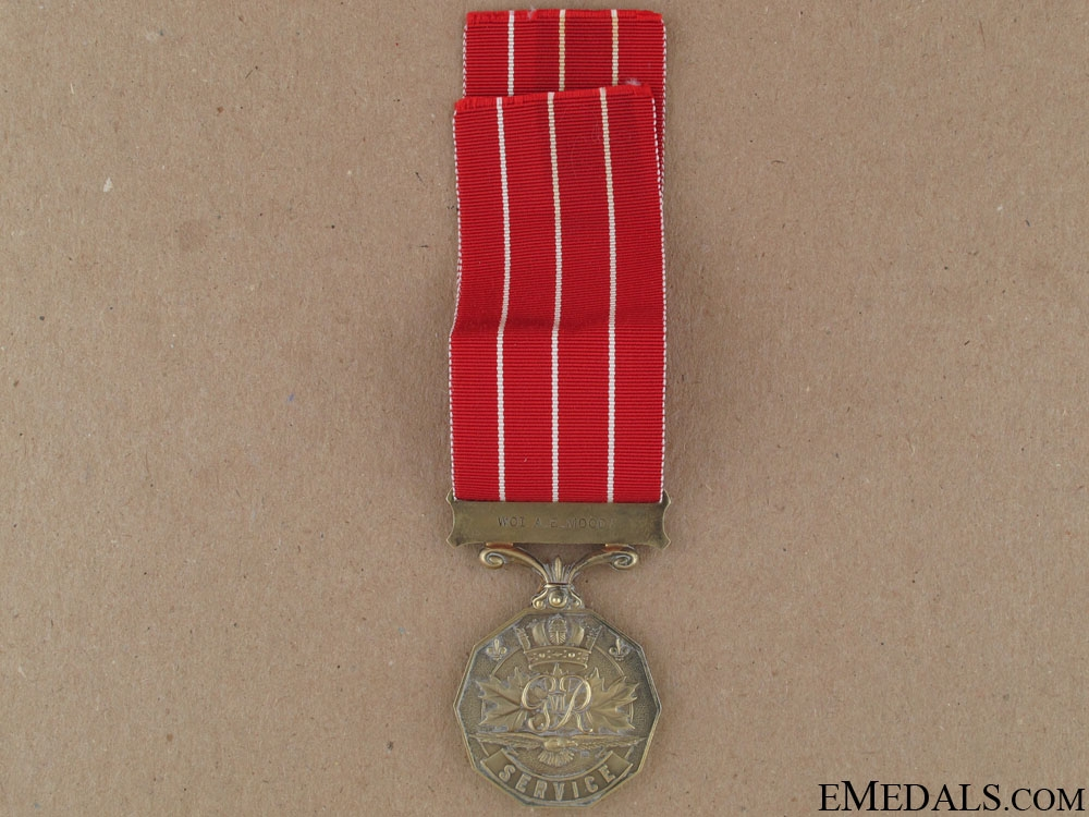 Canadian Forces Decoration - Warrant Officer 1st Class