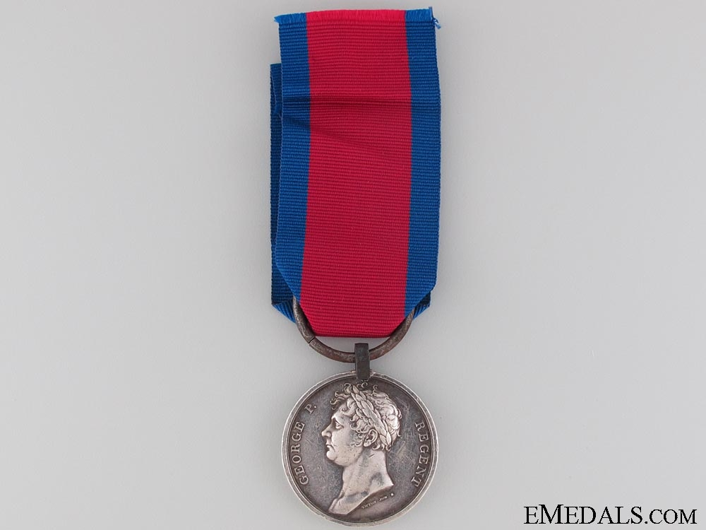A Waterloo Medal to the King's German Legion