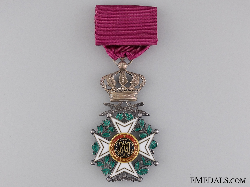 The Belgian Order of Leopold; Military Division