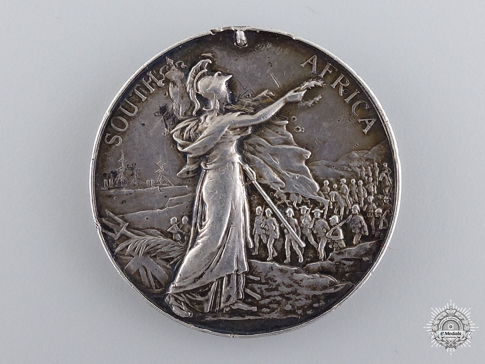 A Queen's South Africa Medal to the Manchester Regiment