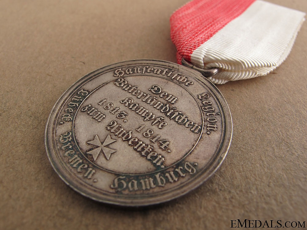 Hanseatic Cities Napoleonic Campaigns Medal