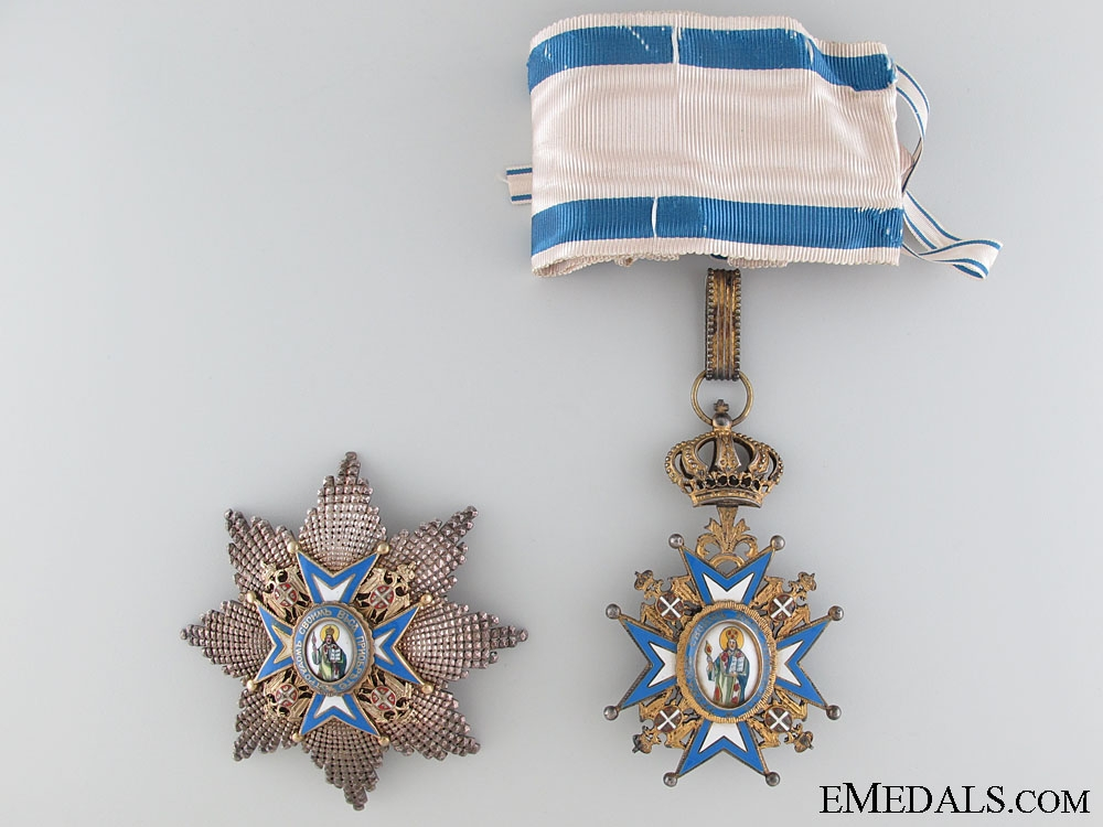 A Second Class Order of St.Sava