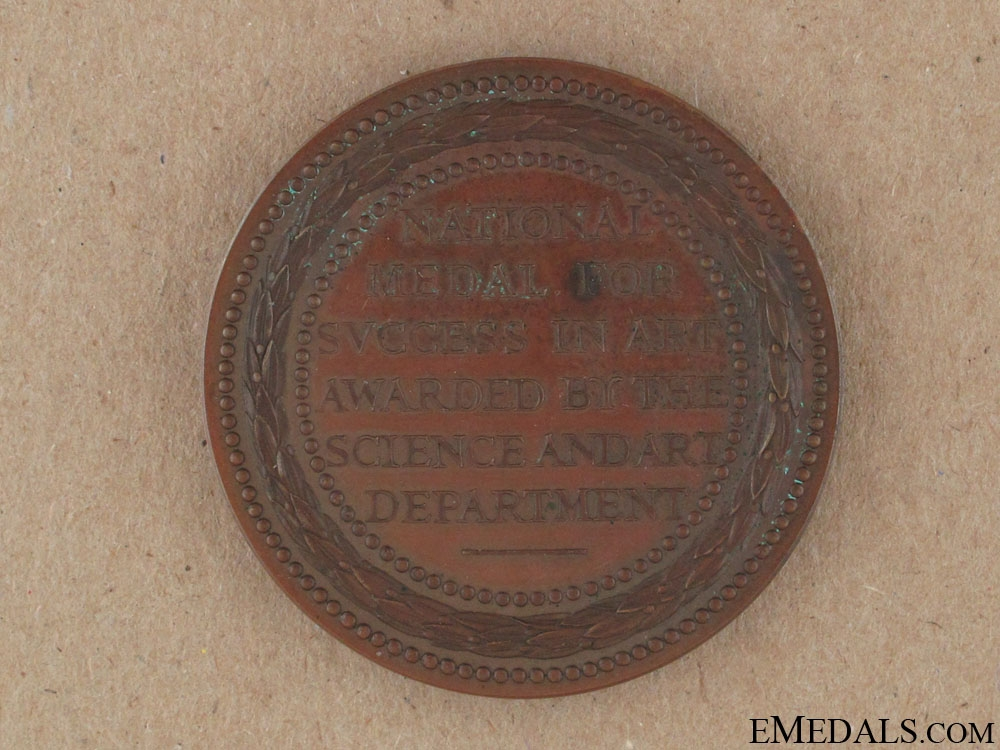 National Science and Art Department Medal 1895