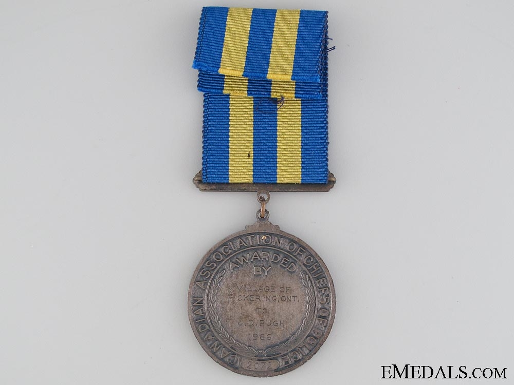 Association of Chiefs of Police Service Medal 1966