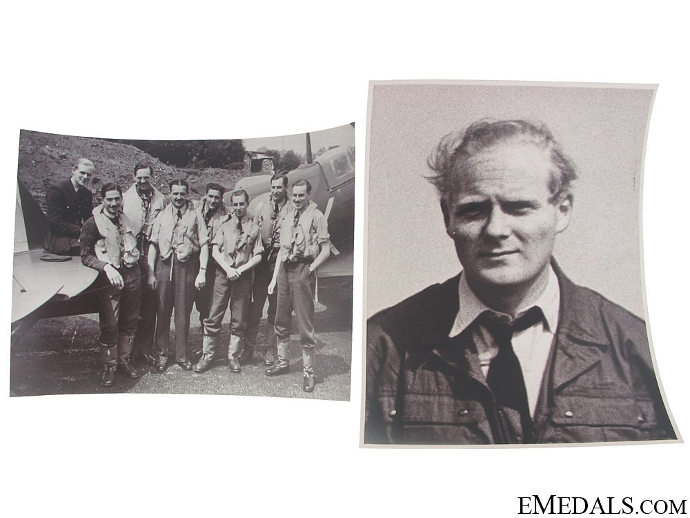 """The Miniatures of Wing Commander P. P. C. """"Paddy"""" Barthropp, D.F.C., A.F.C"""
