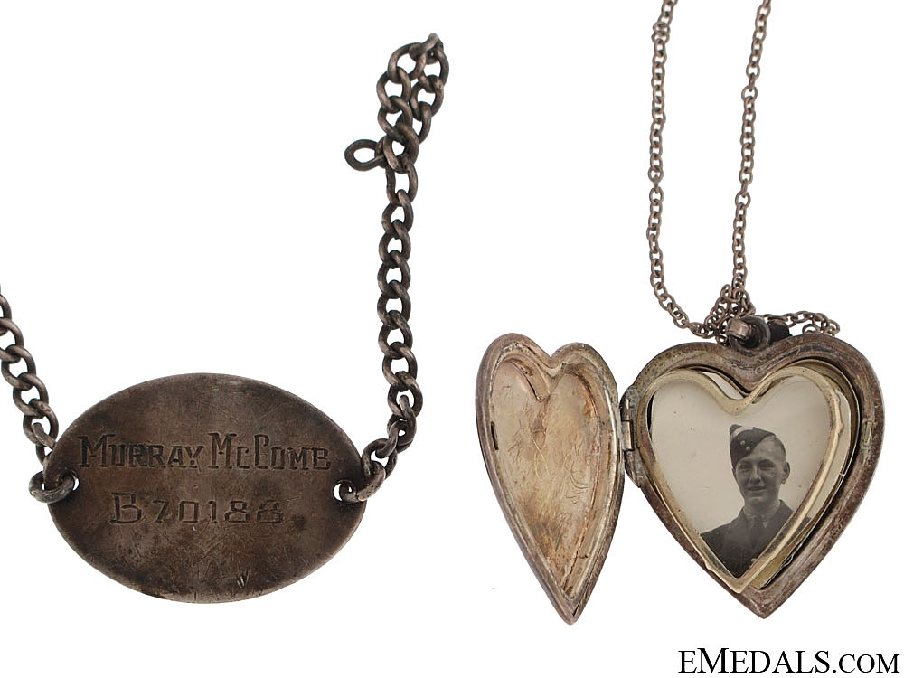 Four RCAF ID & Sweetheart Items