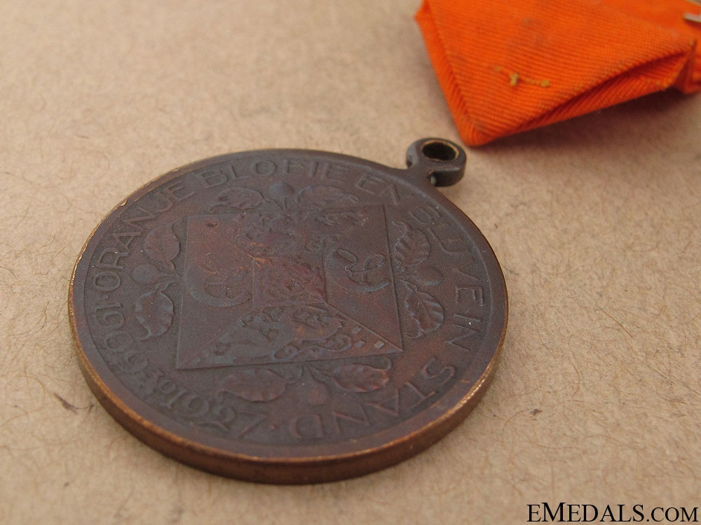 1927 Queen Juliana Coming of Age Medal