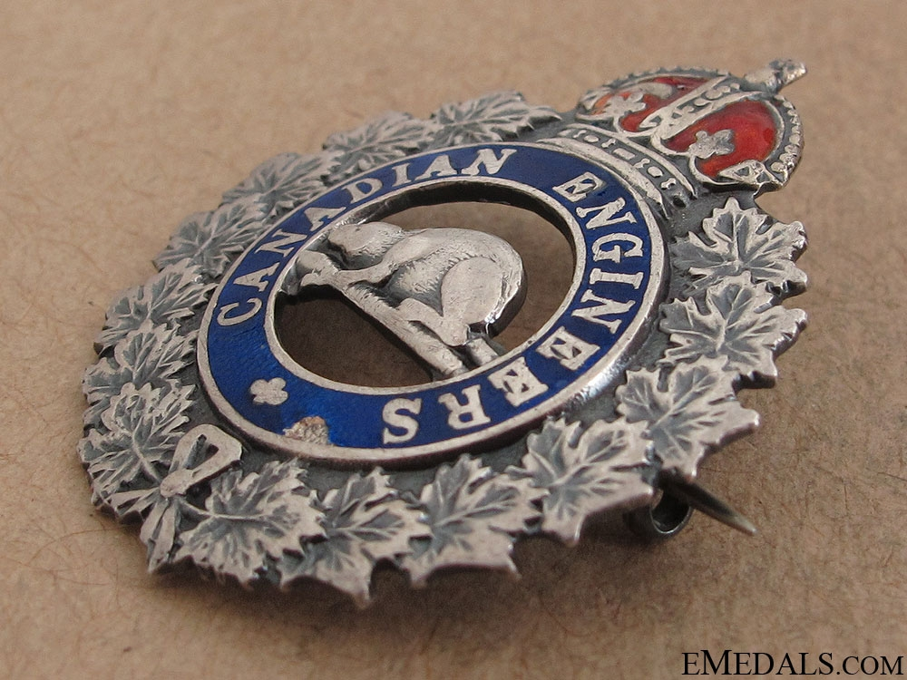 WWI Canadian Engineers Sweetheart Pin CEF