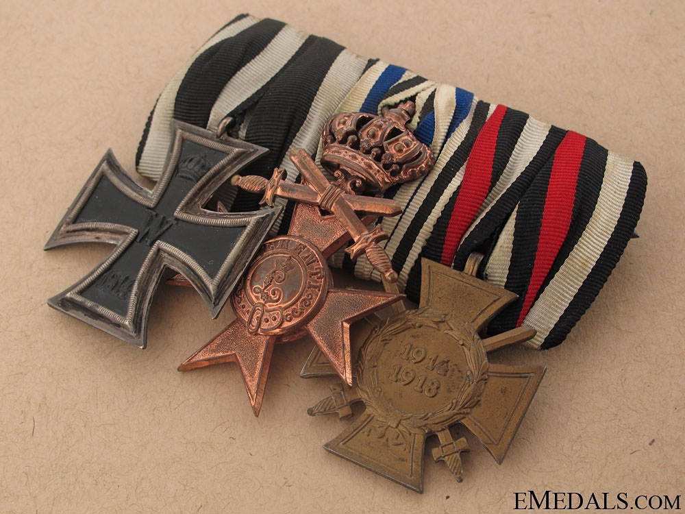 WWI Veteran's Group of Three - Named