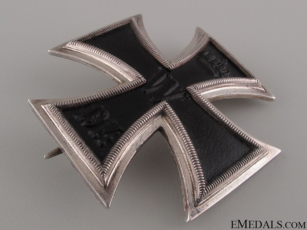 Iron Cross First Class 1914 - Silver & Named   CONSIGNMENT