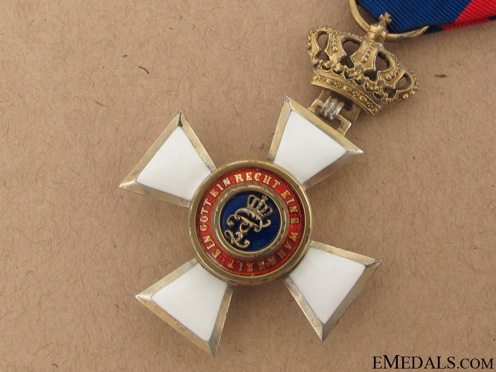 Order of Peter Friedrich Ludwig- Knight 1st. Class