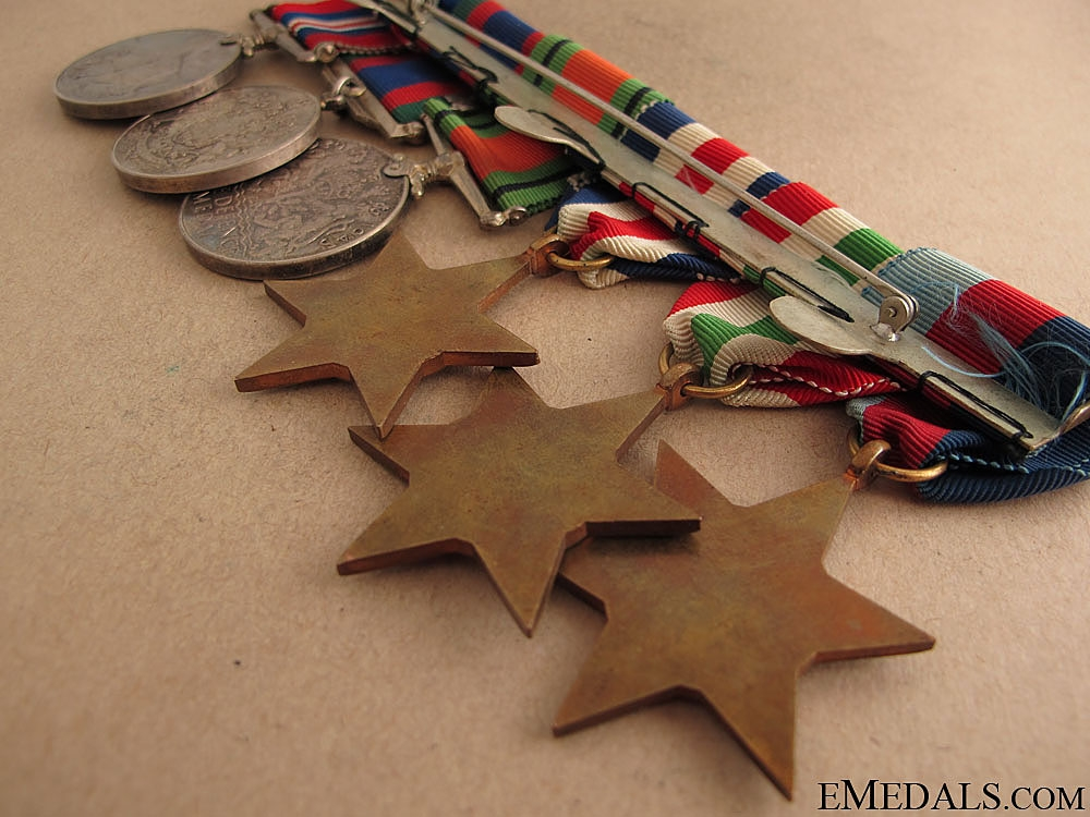 WWII Canadian Medal Group