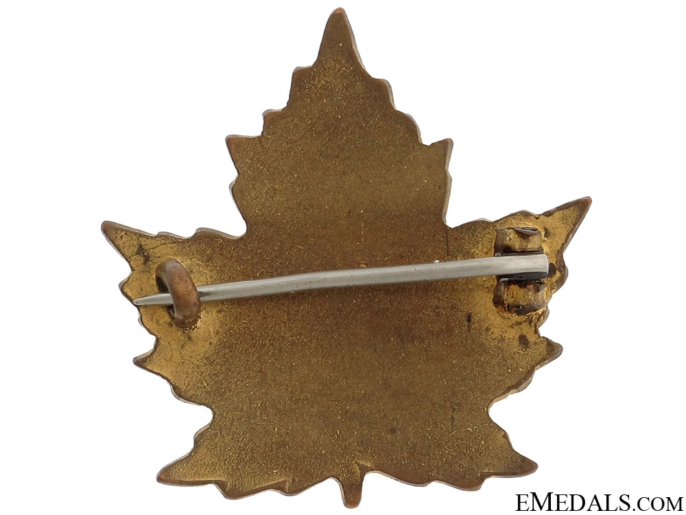 WWI 11th Canadian Field Ambulance Pin CEF