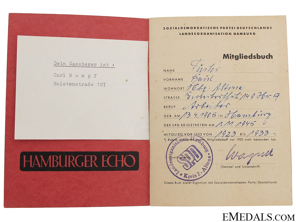 WWII German Documents and Passes