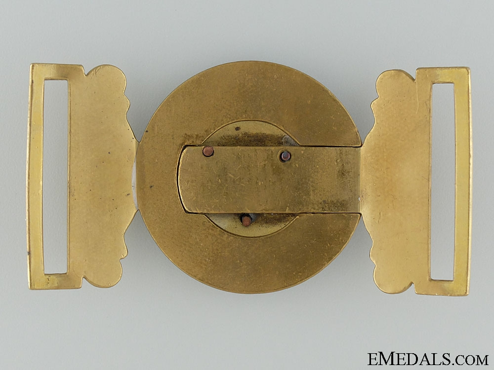 A Victorian Dorsetshire Regiment Officer's Buckle