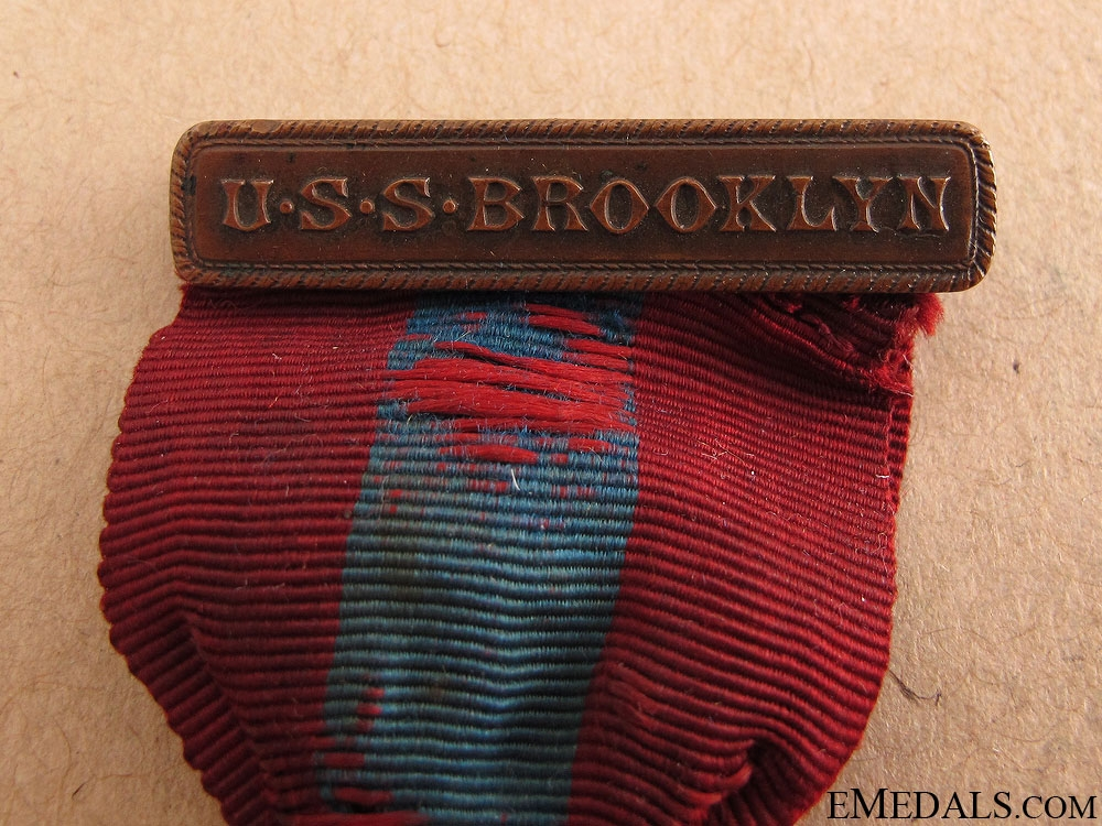 A Rare U.S.S. Brooklyn Medal Group to T.Maddock