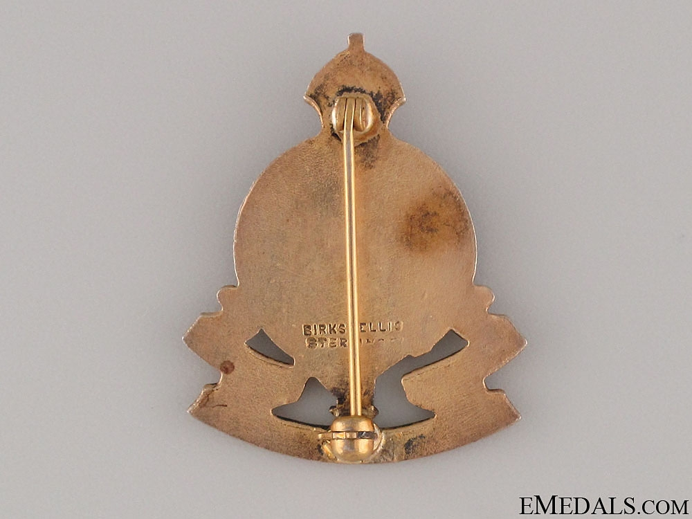 WWI Royal Canadian Ordnance Corps Pin by Birks