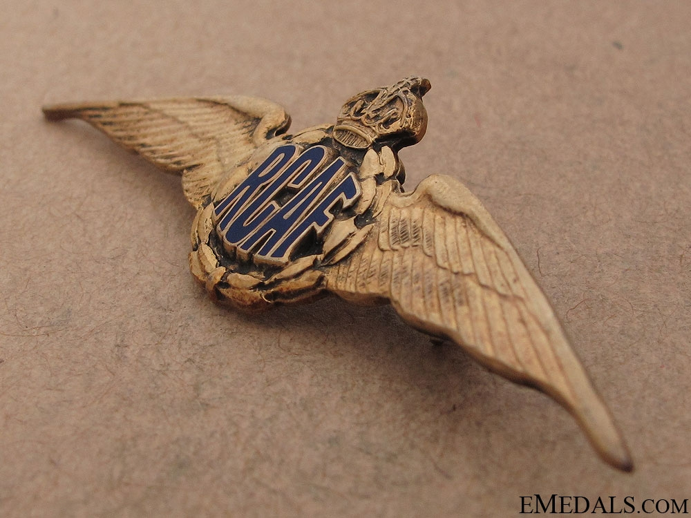 WWII Royal Canadian Air Force Wings by Birks