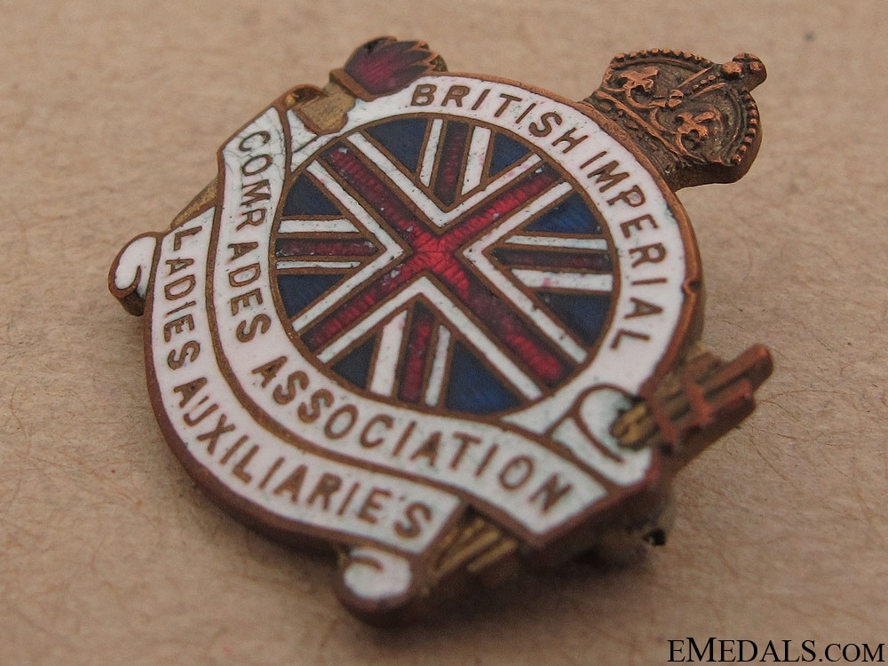 WWI Ladies Auxiliaries Association Pin