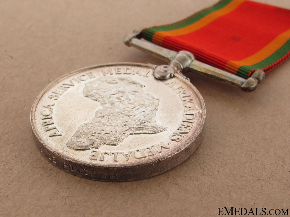 WWII Africa Service Medal