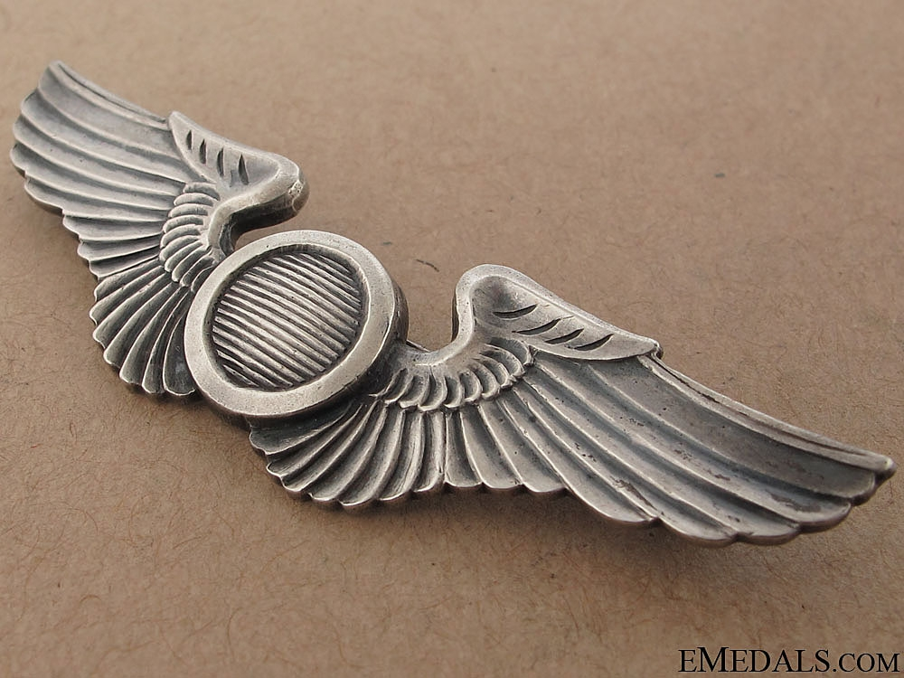 WW2 Air Force Combat Observer's Wing