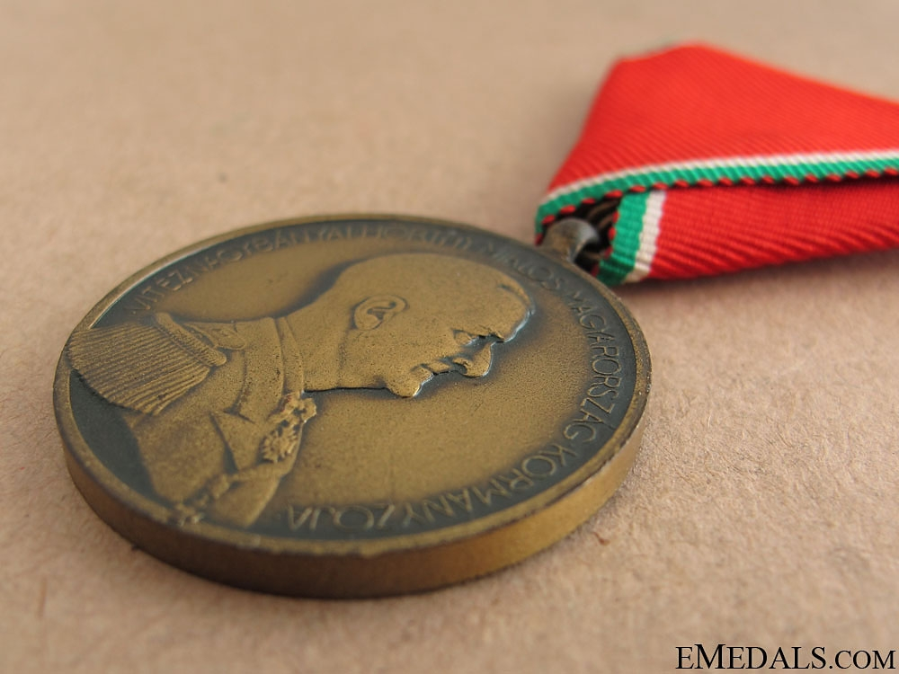 WWII Hungarian Bravery Medal