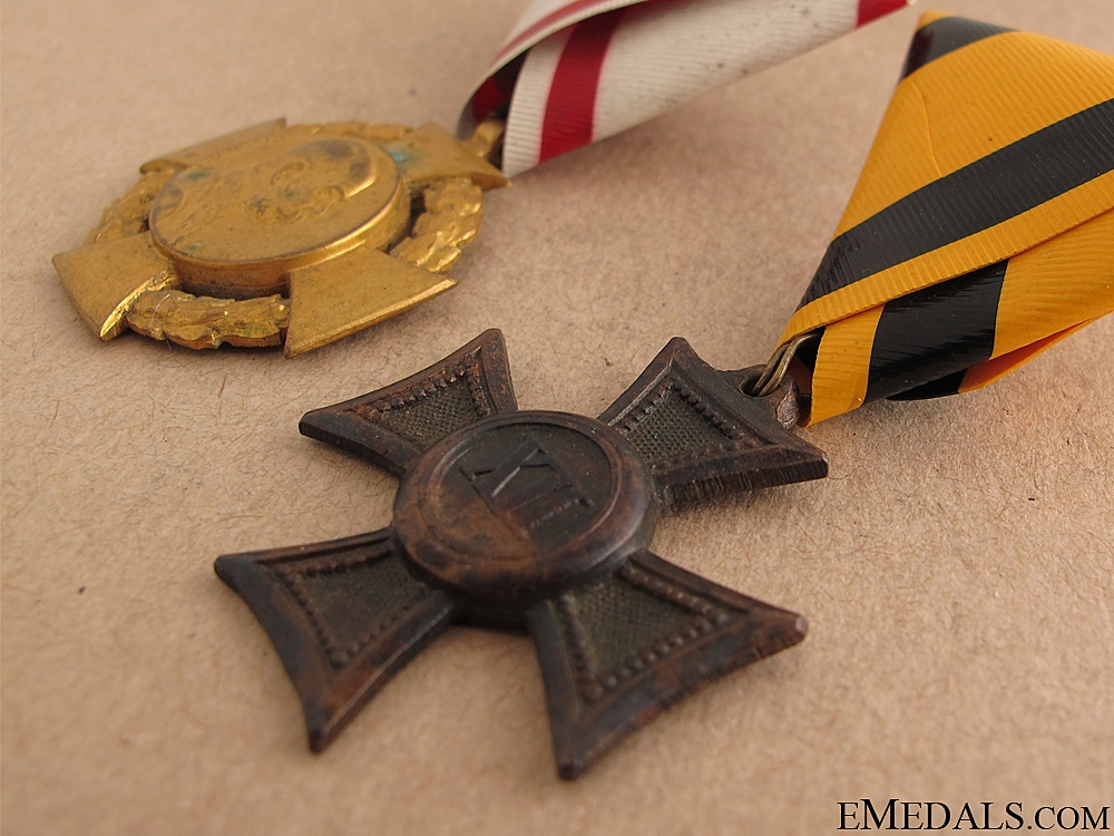 Two Austrian Medals