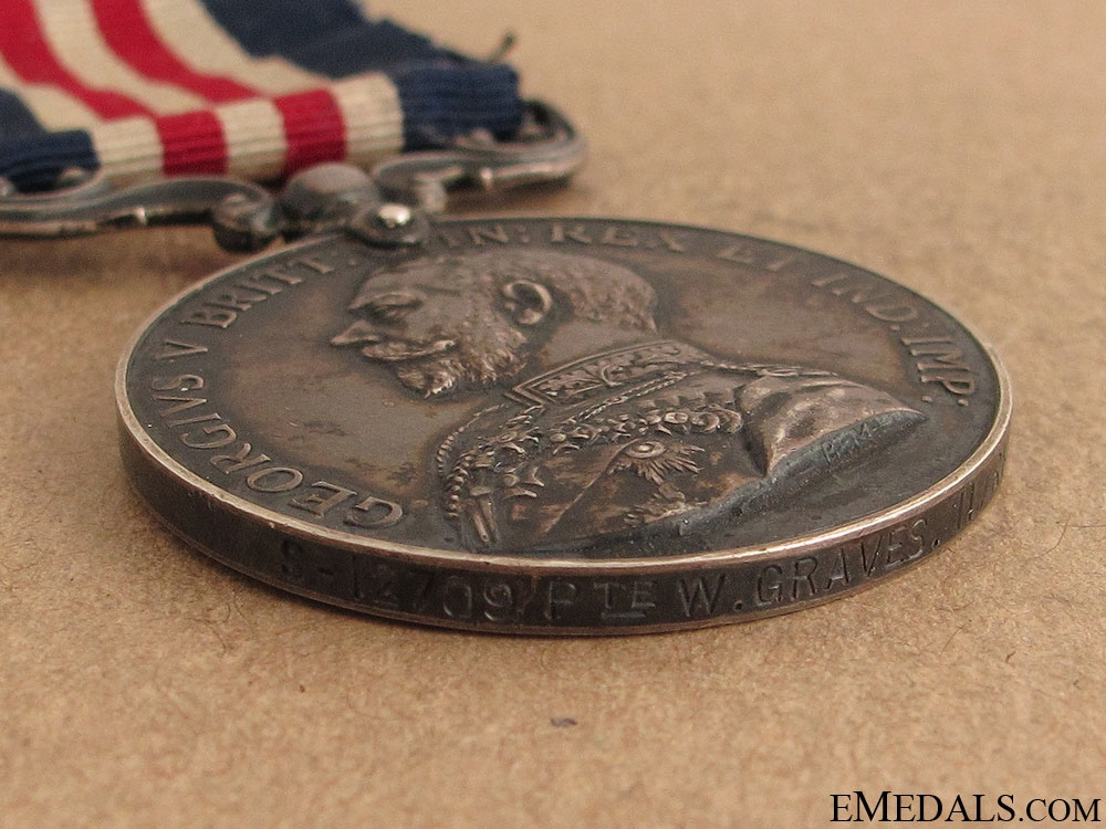 A Military Medal to the Rifle Brigade