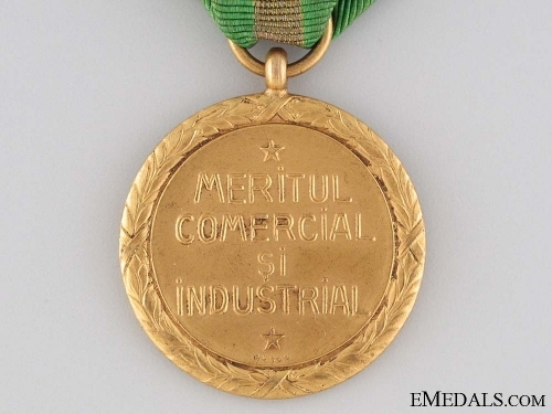 Medal for Industrial and Commercial Merit, Gold Grade