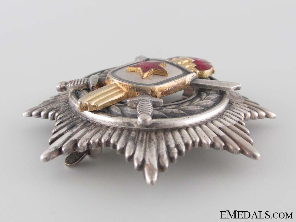 Order of Military Merit - 3rd Class with Swords