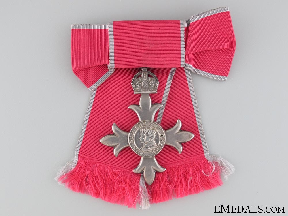 The Most Excellent Order of the British Empire