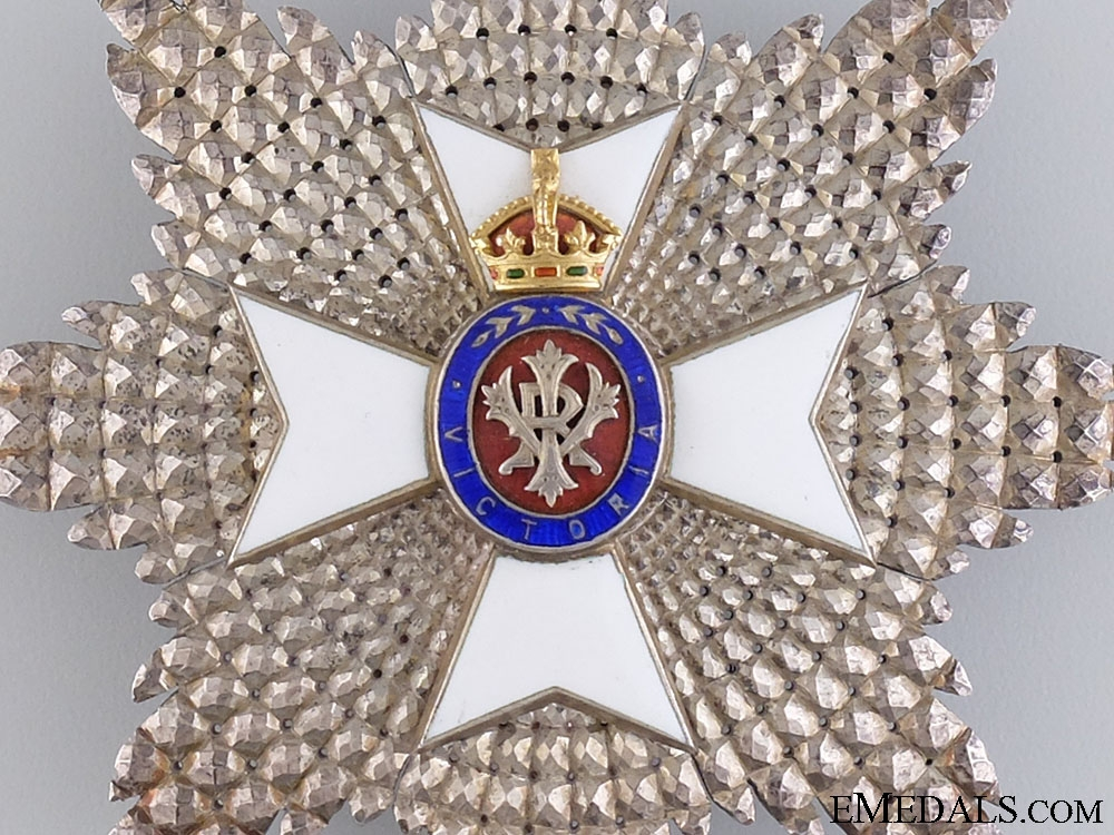 The Royal Victorian Order G.C.V.O; Breast Star