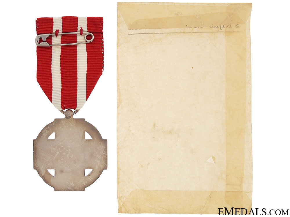 Commemorative Cross of the Dutch Red Cross