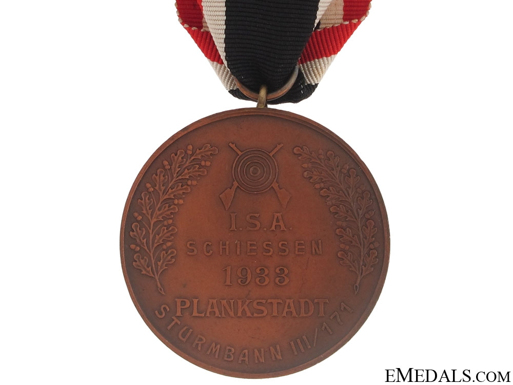 S.A. Shooting Award 1933, Plankstadt